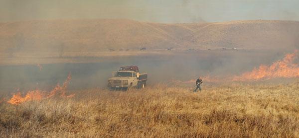 Dudley Fire, Buffalo Gap, South Dakota