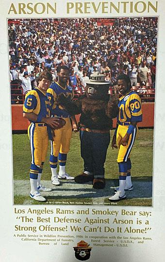 LA Rams and Smokey