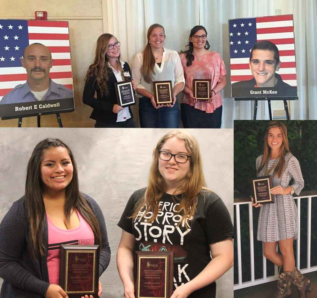 Six students receive scholarships honoring victims of Yarnell Hill Fire