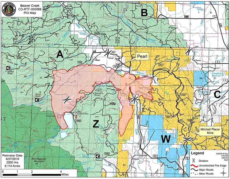 Placer County Fire Map.Beaver Creek Fire Archives Wildfire Today