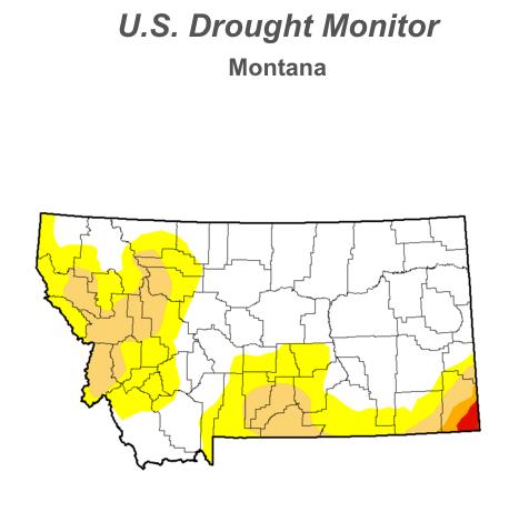 U.S. Drought Monitor, Montana