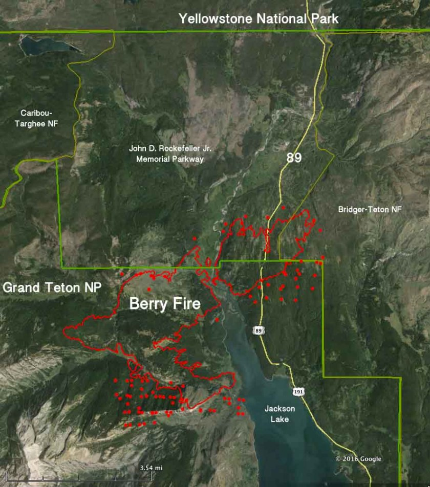 Map Berry Fire