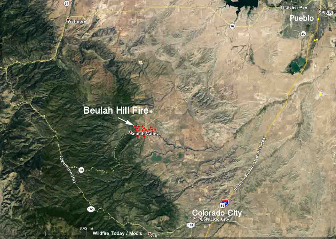 Likely Cause Of Beulah Hill Fire In Colorado Was An Excavator