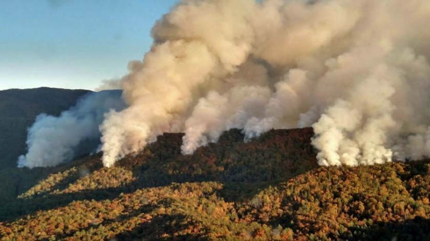 Rough Ridge Fire