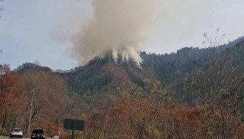 Two Juveniles Charged With Starting Fire That Burned Into - Us forest service fire map in tennessee