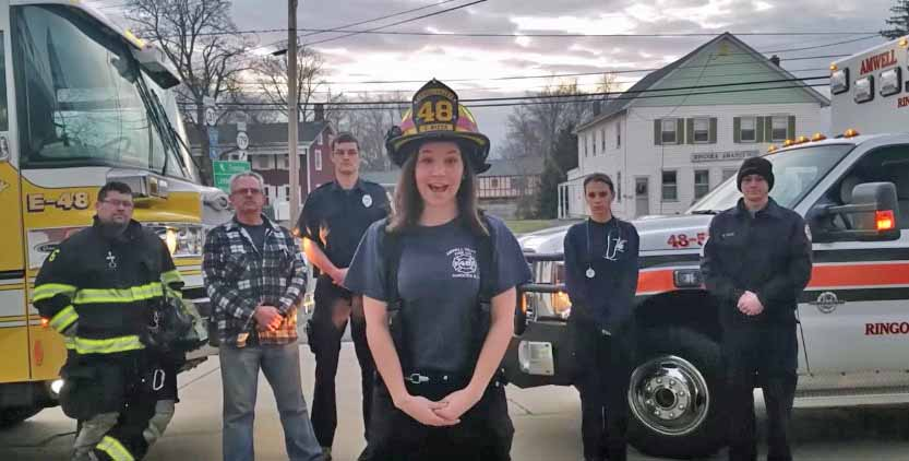 Two New Jersey fire departments use social media to recruit and spread safety message