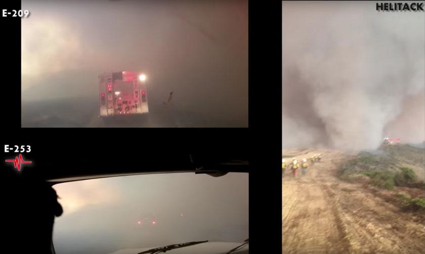 Canyon Fire entrapment