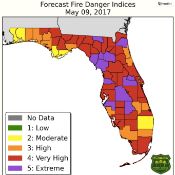 Okefenokee Fire Map.All Eyes On Florida As Wildfires Burn Throughout State Wildfire Today