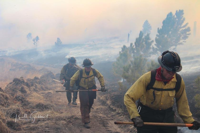 Firefighters Apple Fire