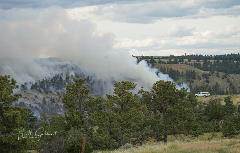 Brady Fire South Dakota