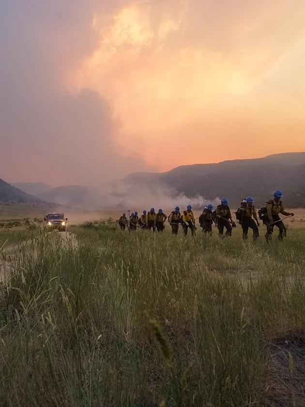 Arrowhead Hotshots Peekaboo Fire