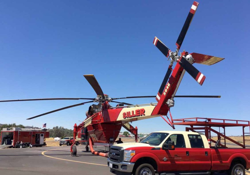helicopter Detwiler fire