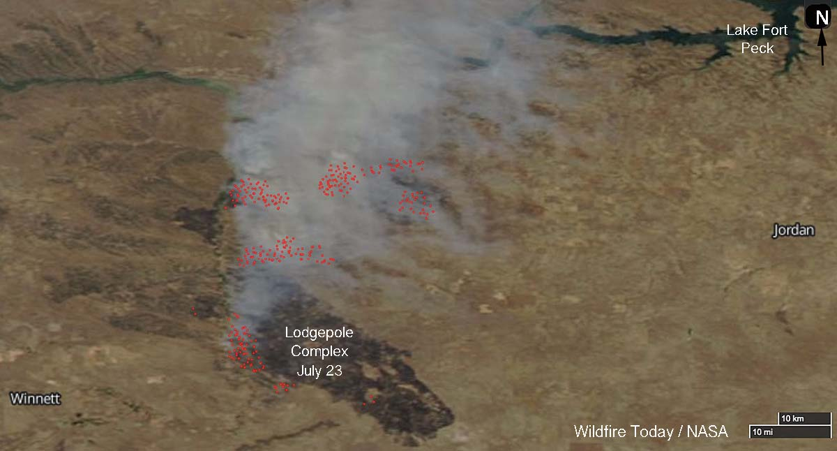Lodgepole Fire in Montana burns over 220,000 acres