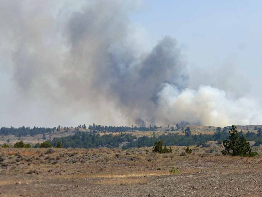 Lodgepole Complex fires
