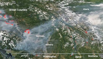 Wildfire Smoke Map July Wildfire Today - Us wildfires google map