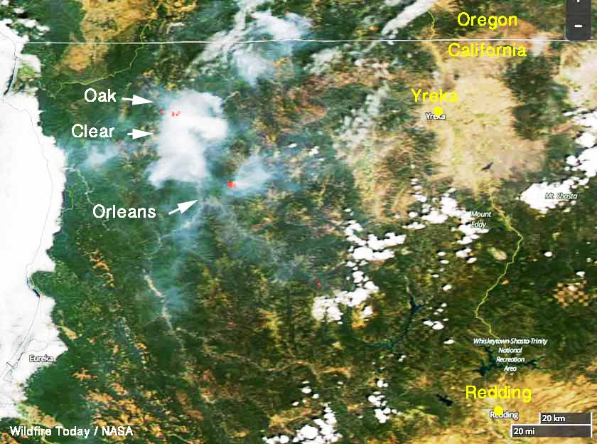 wildfires northwest california
