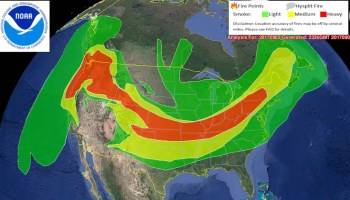 Wildfire Smoke Creates Unhealthy Air In The Northwest US - Us wildfire map