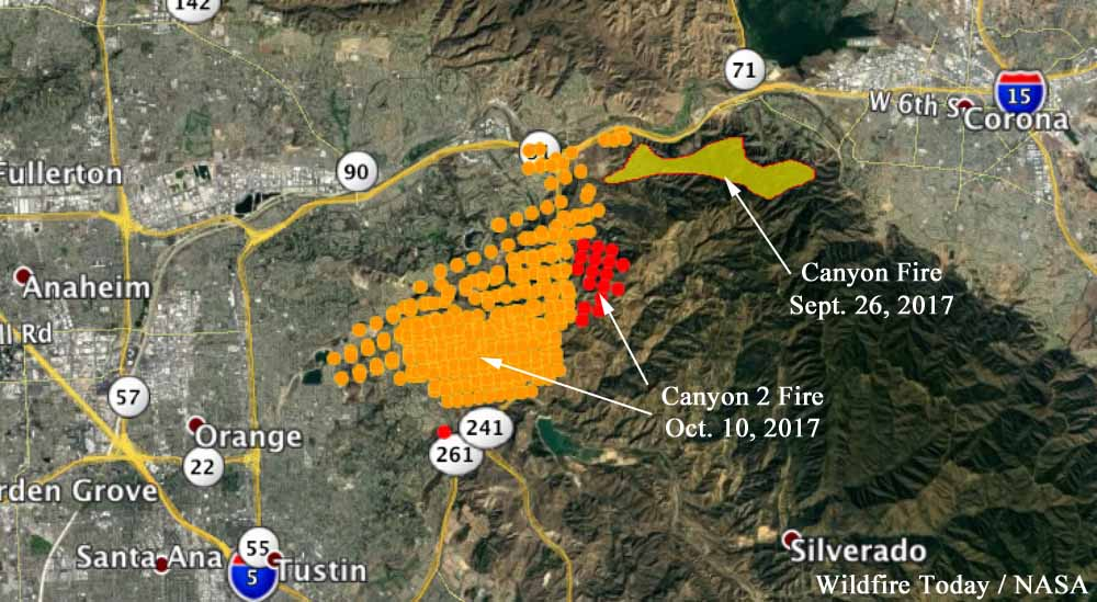 Fire Map In Southern California.Wildfire Today Page 69 Of 1316 News And Opinion About Wildland Fire