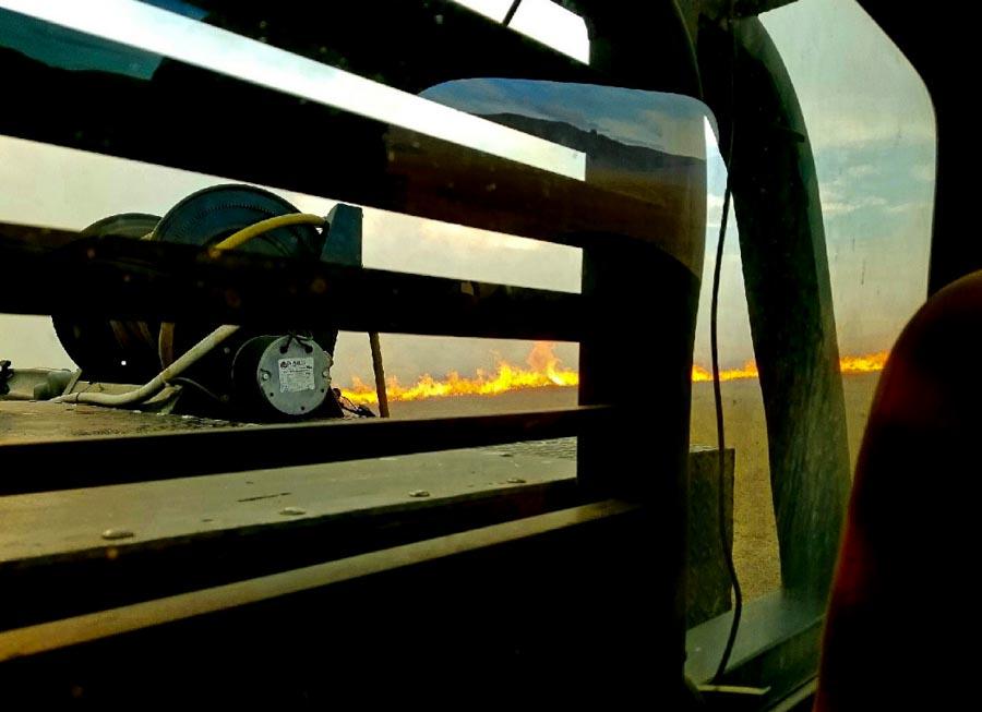 Dry Creek Fire South Dakota