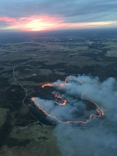 Kemohah Fire Oklahoma