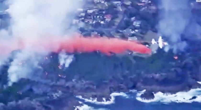 bushfire Tathra new south wales