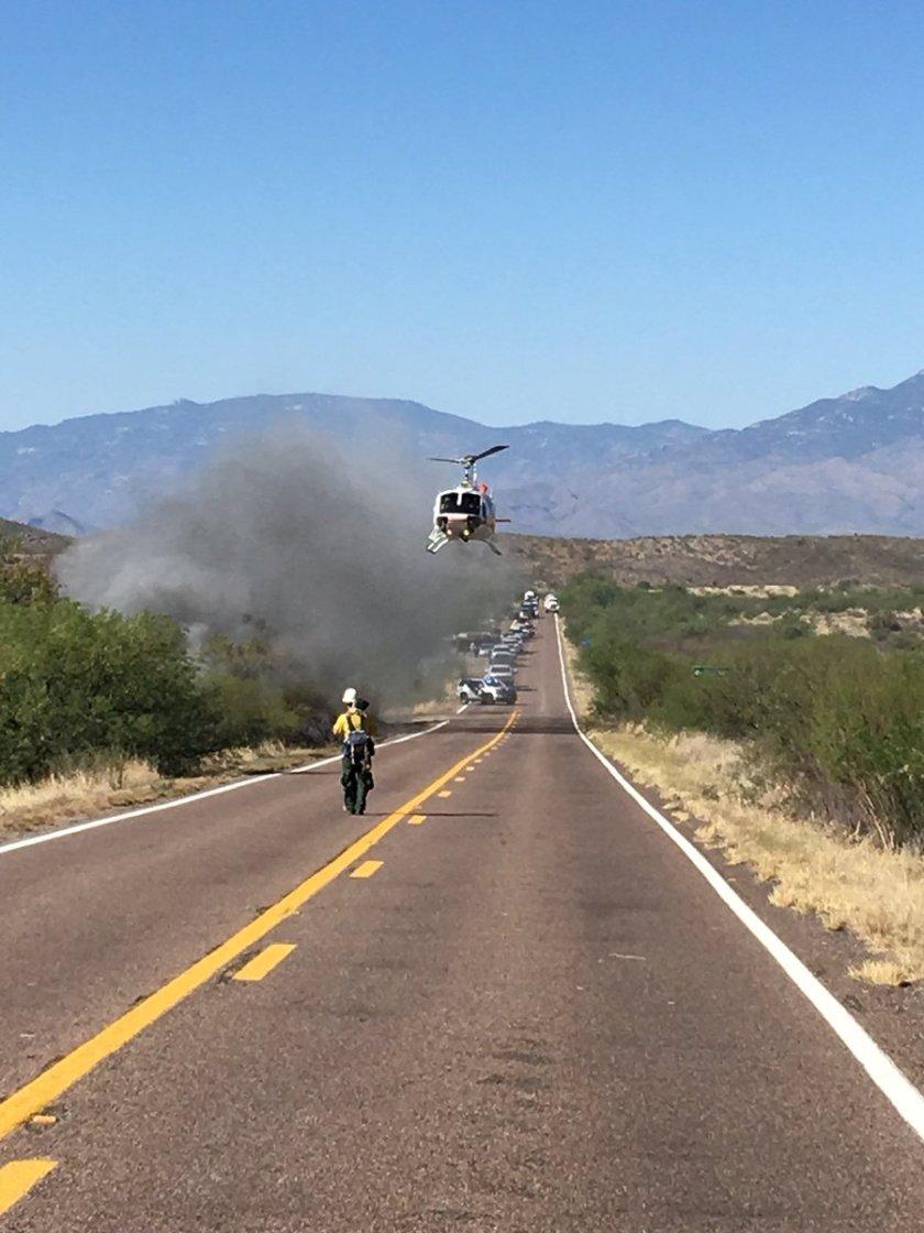 wildfire barrel fire tucson