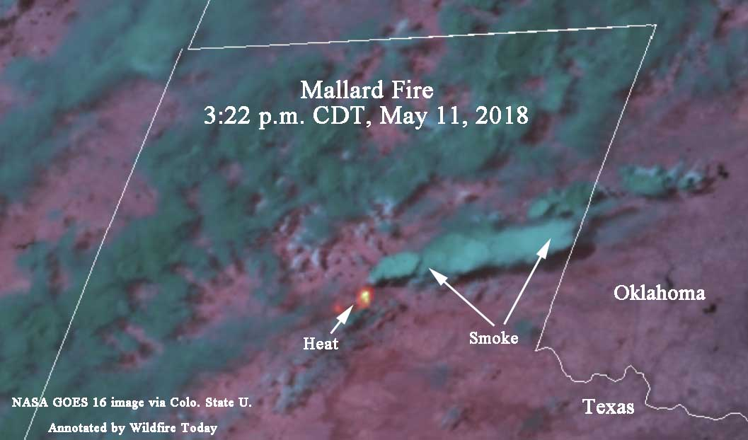 Mallard Fire burns over 30,000 acres southeast of Amarillo, Texas
