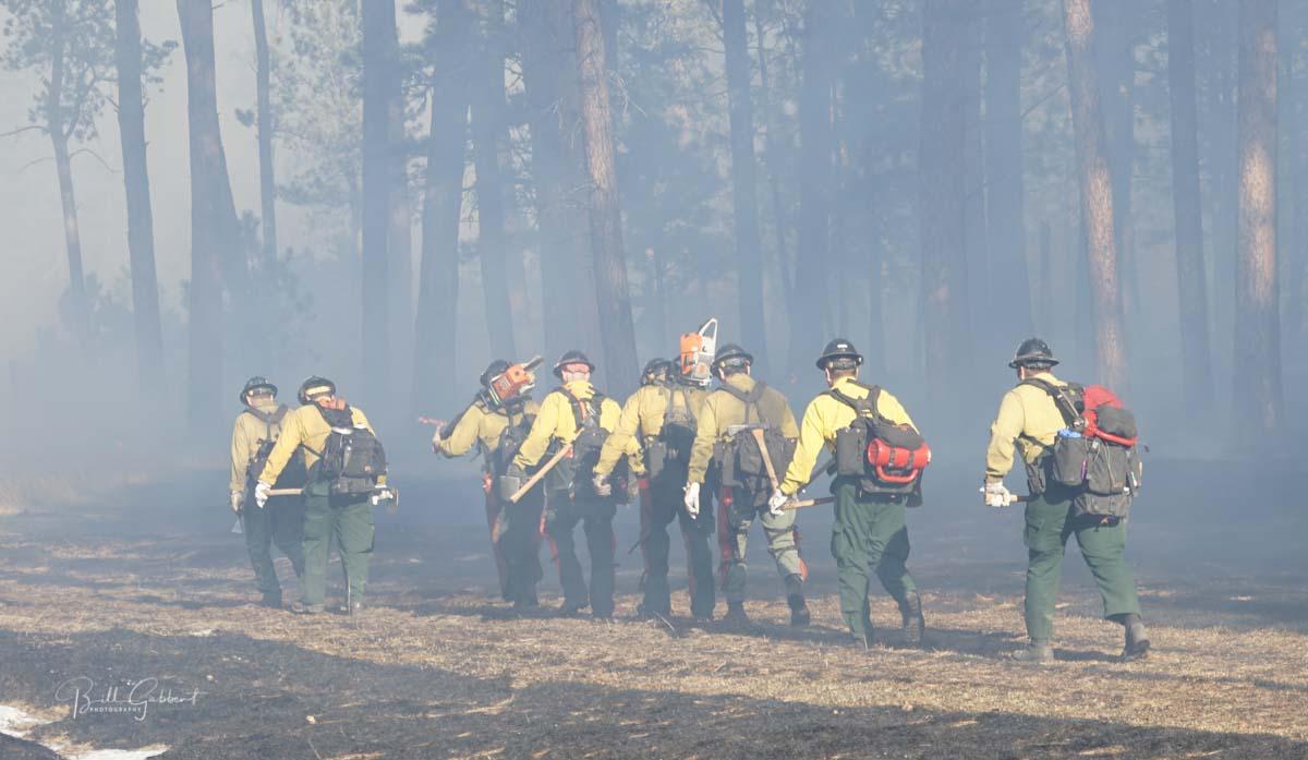 firefighters wildfire smoke