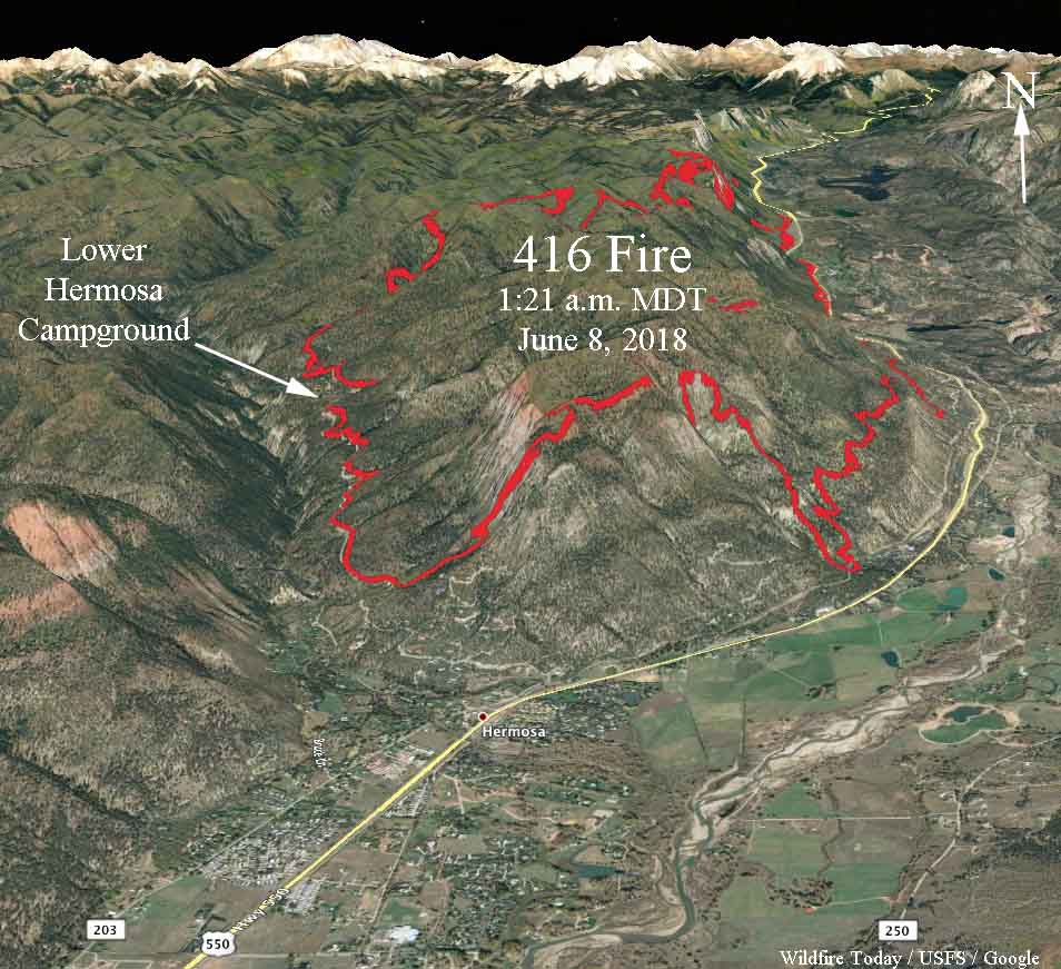 More Evacuations Ordered For The 416 Fire North Of Durango