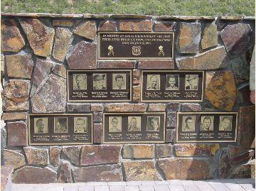 memorial 1953 Rattlesnake Fire