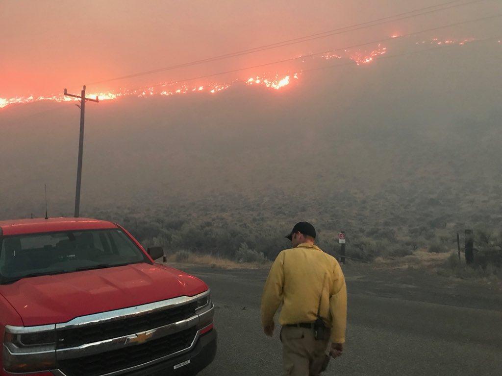 Boylston Fire in Washington grows to 70,000 acres overnight