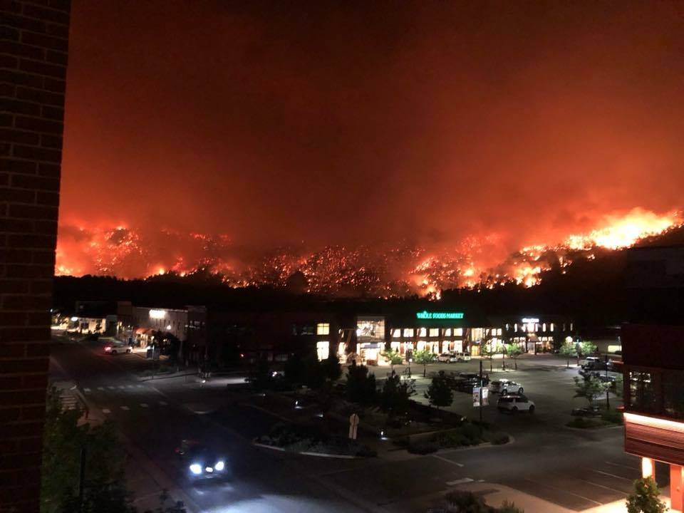 Evacuations ordered for Lake Christine Fire at Basalt, Colorado