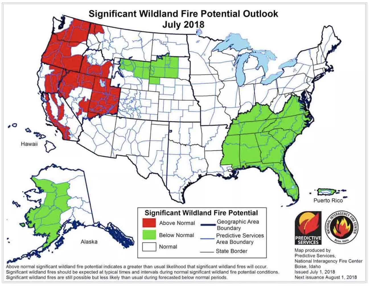 Fire Map California July 2018.Calm Before The Storm Wildfire Today