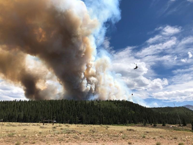 Weston Pass Fire