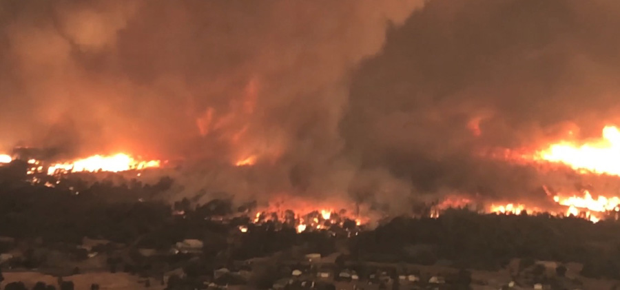 Report concludes fire tornado with 136+ mph winds contributed to a fatality on Carr Fire