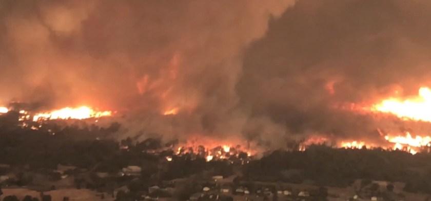 Fire tornado Carr Fire