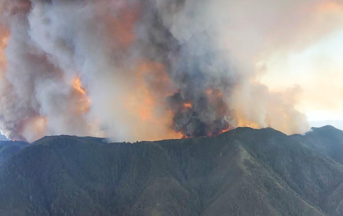 Holy Fire Orange County California