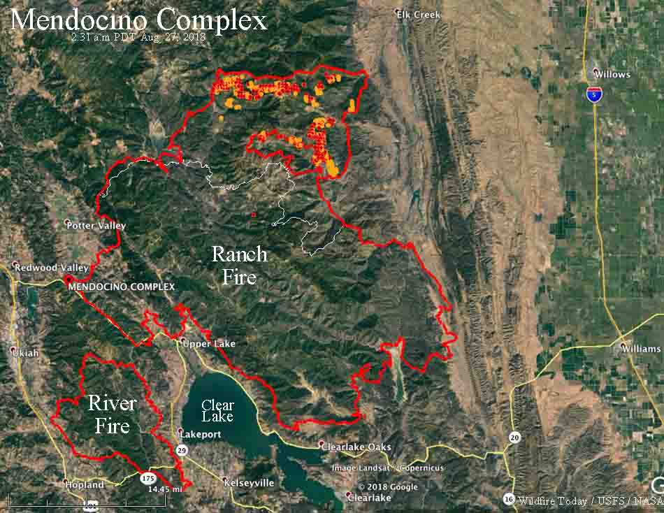 After One Month The Ranch Fire Has Burned Over 400 000 Acres