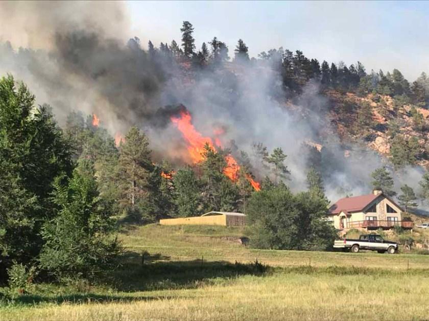 Vineyard Fire, August 11, 2018