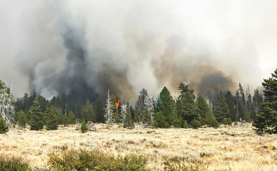 Watson Creek Fire spreads to within 6 miles of Paisley, Oregon