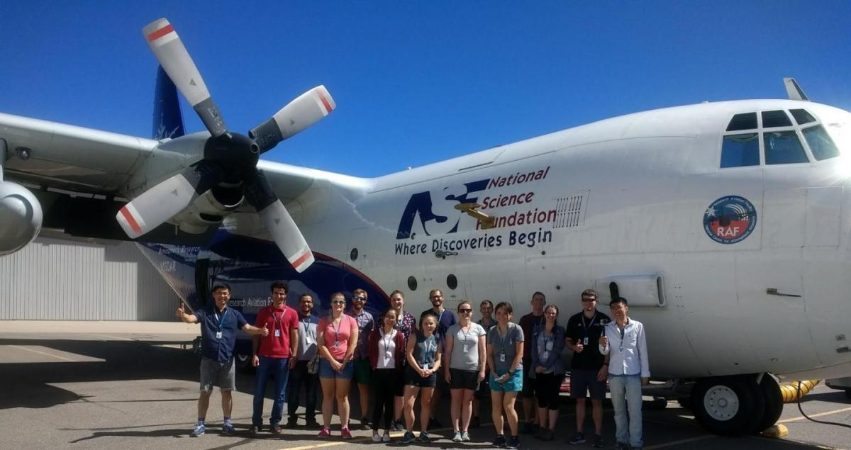 University chemist and students take flight with groundbreaking wildfire emission study