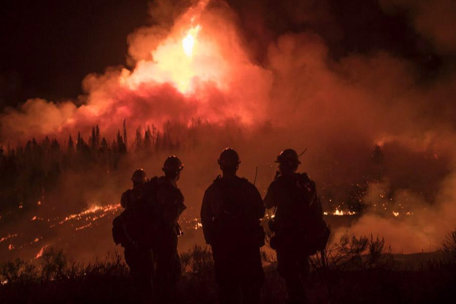 Firefighters making progress on Roosevelt Fire in Wyoming