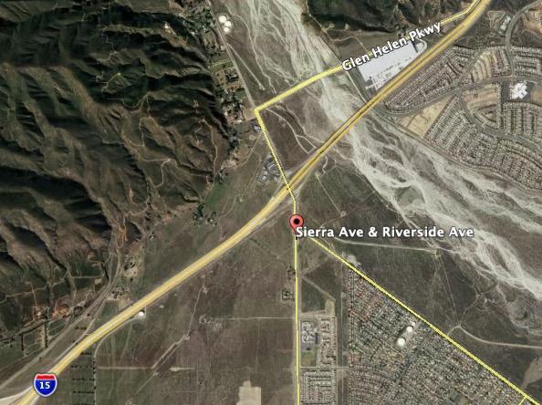 map Sierra Fire
