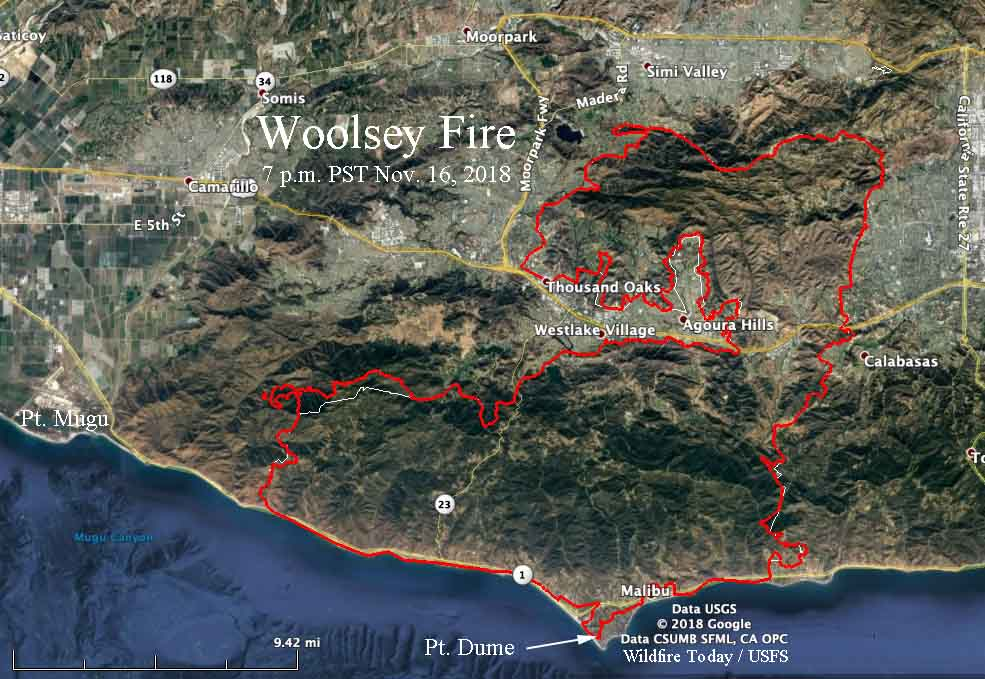 Woolsey Fire Archives Wildfire Today