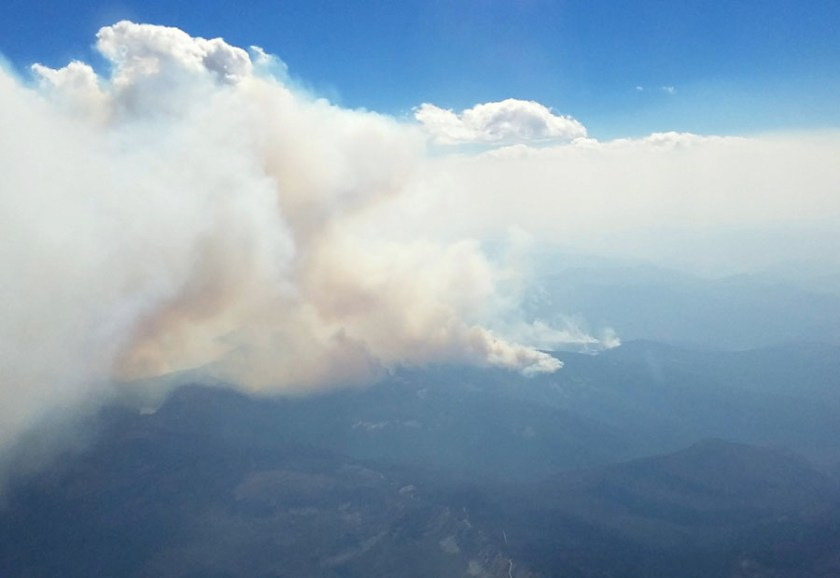 NSF smoke wildfire study