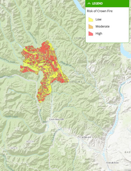 Spokane Wildfire Map.Washington Archives Wildfire Today