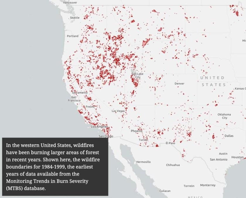 analysis precipitation wildfires