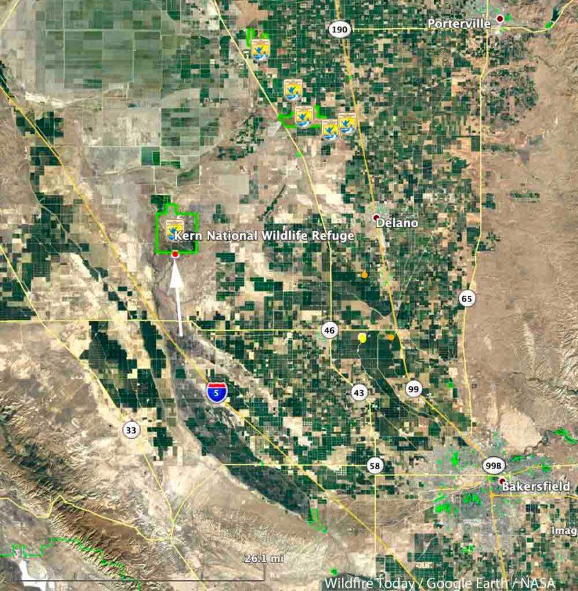 map Refuge Fire