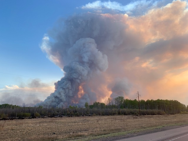 firing operation burnout protect High Level Alberta Chuckegg Fire