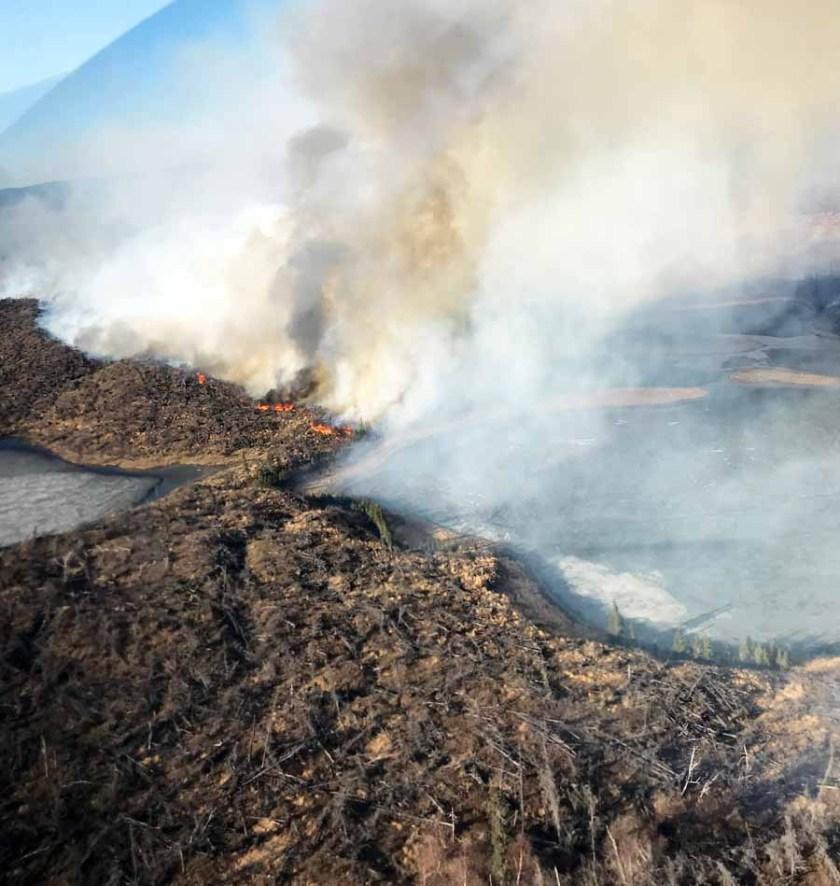 Oregon Lakes Fire